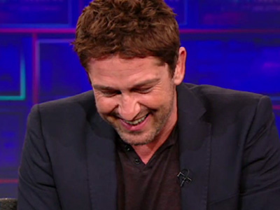 Gerard Butler vs The Ocean - The Daily Show