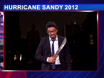 Hurricane Sandy's Aftermath - The Daily Show