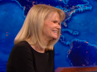 Martha Raddatz | November 5th 2012 | The Daily Show with Jon Stewart