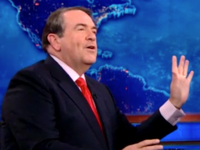 Mike Huckabee Extended Interview - The Daily Show