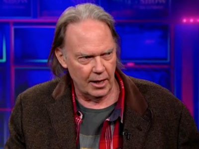 Neil Young Extended Interview - The Daily Show