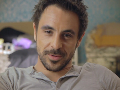 Emun Elliott introduces Richie - Threesome Behind The Scenes