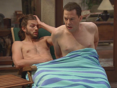 Two and a Half Men | 902 | Alan's Morning Reflex